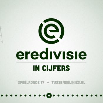 Eredivisie in cijfers, speelronde 17