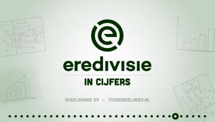 Eredivisie in cijfers, speelronde 29
