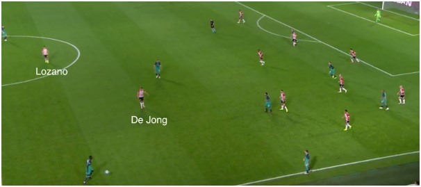 PSV - Spurs tactische analyse 5