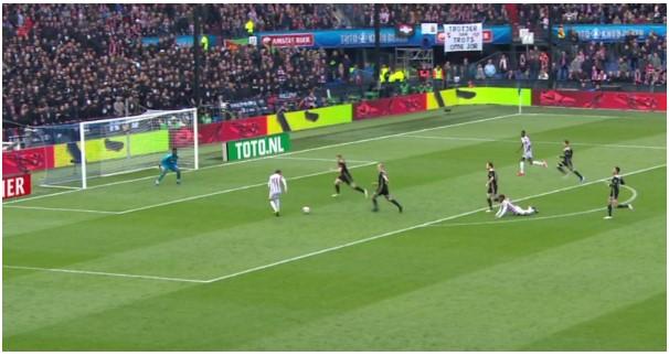 Bekerfinale Willem II - Ajax Analyse 10