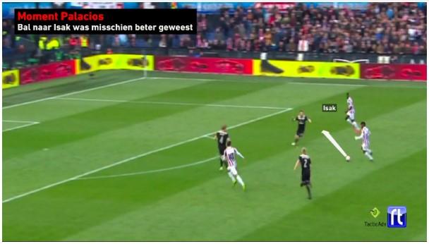 Bekerfinale Willem II - Ajax Analyse 9