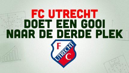 FC Utrecht derde plek eredivisie