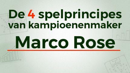 marco rose borussia monchengladbach