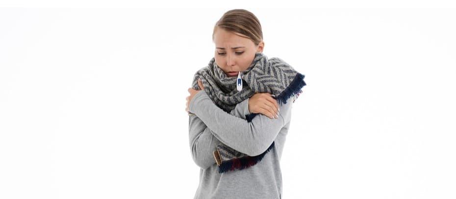 trainen verkouden