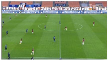 nabeschouwing Inter AC Milan 1