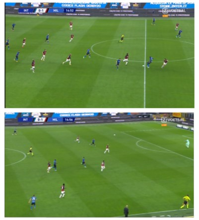 nabeschouwing Inter AC Milan 4