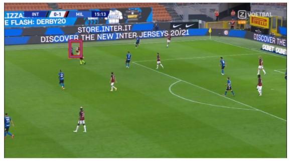 nabeschouwing Inter AC Milan 8