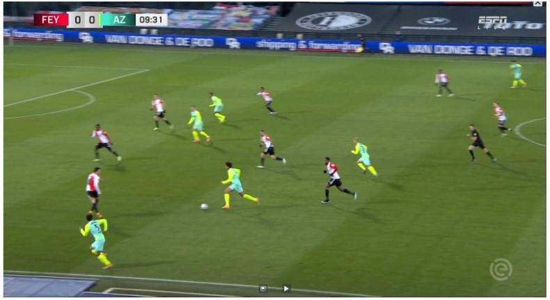 Analyse Feyenoord Az 2