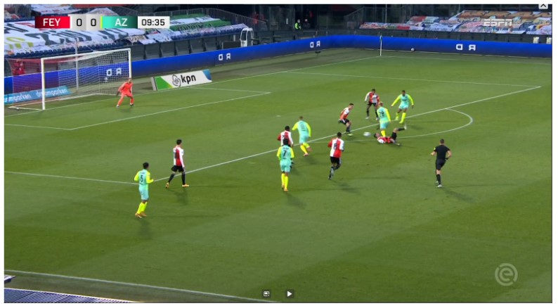 Analyse Feyenoord Az 3