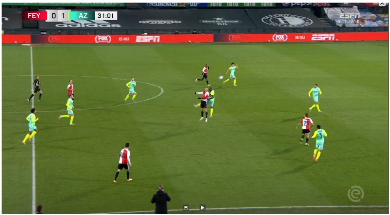 Analyse Feyenoord Az 5