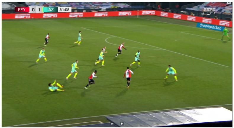 Analyse Feyenoord Az 6