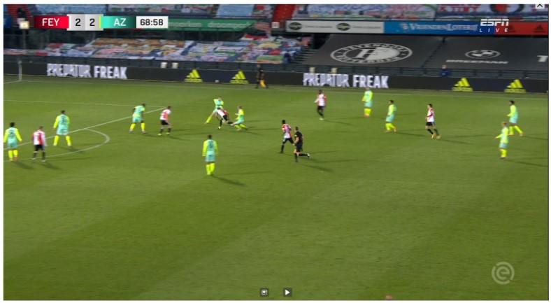 Analyse Feyenoord Az 8