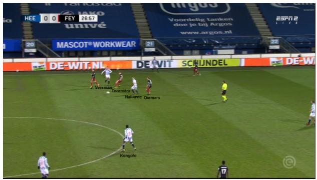 Heerenveen Feyenoord 3