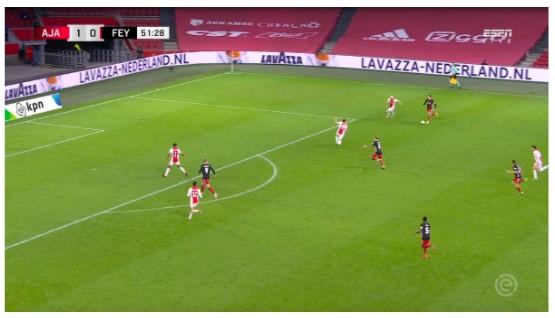 Tactische Analyse Ajax Feyenoord 11
