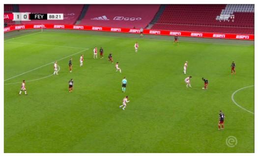 Tactische Analyse Ajax Feyenoord 12