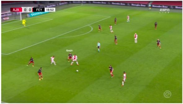 Tactische Analyse Ajax Feyenoord 5