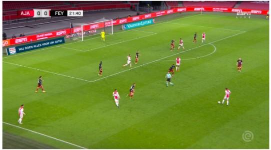 Tactische Analyse Ajax Feyenoord 6