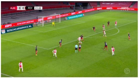 Tactische Analyse Ajax Feyenoord 7