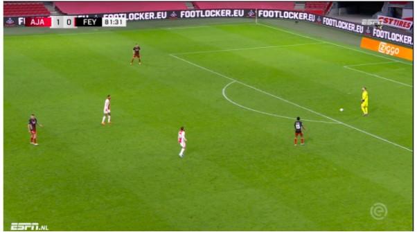 Tactische Analyse Ajax Feyenoord 9