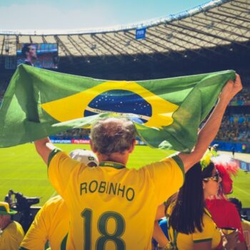 Inzetten Voetbalwedstrijd